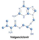 Valgancyclovir — ストックベクタ
