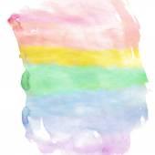Watercolour rainbow spectrum — Stock Vector