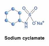 Sodium cyclamate — Stock Vector
