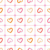 Polka heart — Stok Vektör