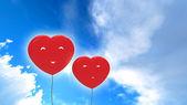 Balloons heart — Stock Photo