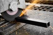 Stroje na řezání kovů — Stock fotografie