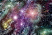 Deep space star nebula — Stock Photo