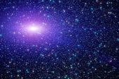 Abstract star sky nebula — Stock Photo