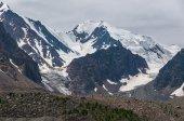 Mountain snow glacier rocks — Stock fotografie