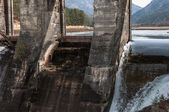 Hidroelektrik Santrali su akışı — Stok fotoğraf