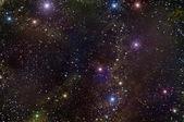 Universe deep space star nebula — Stock Photo