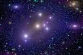 Deep space star nebula — Stock Photo