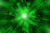 Abstract star explosion nebula — Stock Photo