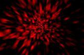 Fundo abstrato vermelho quadrados pretos — Fotografia Stock