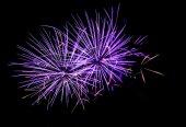 Fireworks salute — Stock Photo