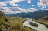 River in the mountains — Стоковое фото