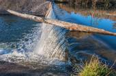 Wasserfall Fluss — Stockfoto