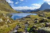 Lake Gentau in the Bearn Pyrenees — Stock Photo