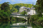 Bastida Lestelle-Betharram in the French Pyrenees — Stock Photo