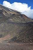 Volcanic landscape of the Mount Etna — Stock Photo