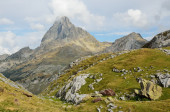 Peak du Midi d'Ossau in the Atlantic Pyrenees — Stock Photo
