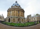 Panoramic view of the Radcliffe Camera — Stock Photo