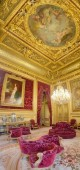Napoleon III's apartment at the Louvre Museum — Stock Photo