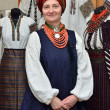 Ukrainian woman in the traditional garment — Stock Photo #67870757