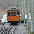 Electrical rack railroad in the mountain — Stock Photo #70374259