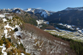 Belagua valley in the Navarrese Pyrenees — Stock Photo