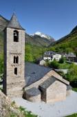 Catalan Romanesque church of the vall de Boi — Stock Photo