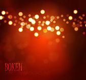 Colorful bokeh background. Vector illustration — Cтоковый вектор
