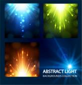 Abstract starry background — Stock Vector