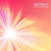 Sun space background — Stock Vector