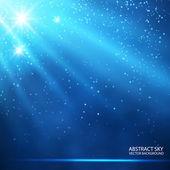 Sky starry background — Vetor de Stock