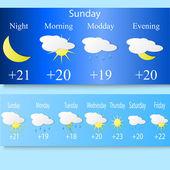 Weather 2 — Stock Vector