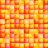 Glossy colorful mosaic square cells grid — Stock Vector