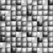 Glossy colorful mosaic square cells grid — Stok Vektör