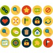 Universal flat icons set — Stock Photo #55577025
