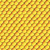 Orange and yellow seamless honeycombs texture — Stock Photo
