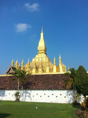 Pha dat luang stoepa in vientiane, laos — Stockfoto
