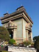 Victory Gate (Patuxai) in Vientiane, Laos — Stock Photo
