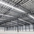 Large modern empty storehouse — Stock Photo #65954099