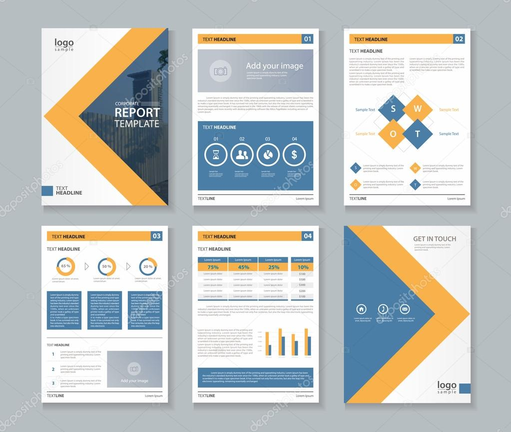 4 page annual report sample