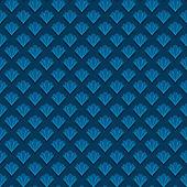 抽象壳无缝模式 — 图库矢量图片