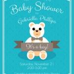 Baby Shower Invitation — Stock Vector #59579837