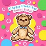 Happy Birthday Card Design — Stock Vector #59585851