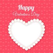 ギフトカード。バレンタインの日 — Stock vektor