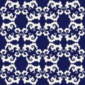 Abstraktní květinový vzor bezešvé — Stock vektor