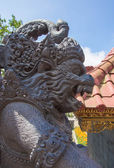 Stone sculpture near the temple, Bali — Stock Photo