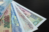 Background from banknotes. Vietnamese Dong — Stock Photo