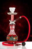 Red sheesha — Stock Photo