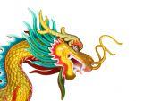 Estátua de dragão — Fotografia Stock