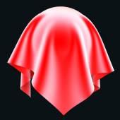 Ball in the red silk cloth. — Foto de Stock